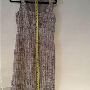 Ann Taylor Tweed Lilac Dress